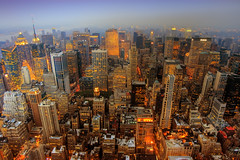 Manhattan Sunset (Wolfgang Staudt) Tags: city nyc newyorkcity travel sunset summer urban orange usa newyork colors wow lights big lowlight nikon holidays neon darkness searchthebest availablelight centralpark tripod great 5thavenue 2006 noflash permit empirestatebuilding juli vacancy hdr bigcitylights abigfave sixsixsixclub wolfgangstaudt 66111 focuslegacy fiveflickrfavs