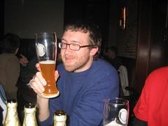 Tim and his beer (David_Beltra_Tejero) Tags: beer tim 2007 febrer azriel100 pocapoc