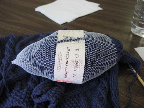 yarn support