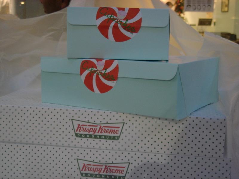 Cupcakes and Krispy Kreme