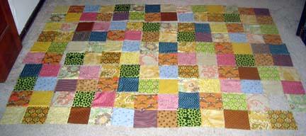 Quilt # 2 Progress