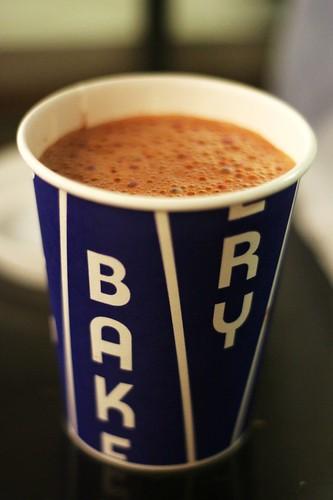 hot chocolate (malted milk)