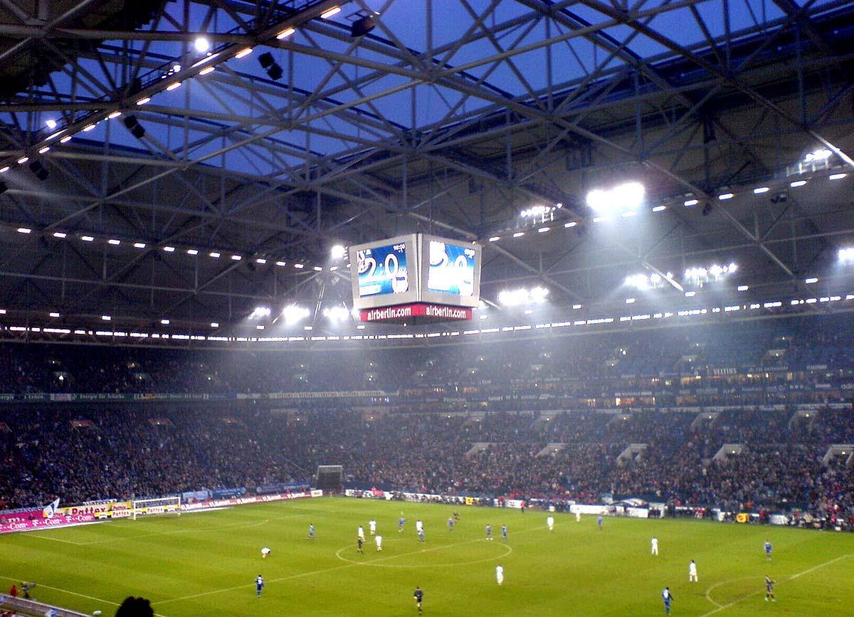 Heimspiel Schalke - Hertha 2:0 (10.02.2007)