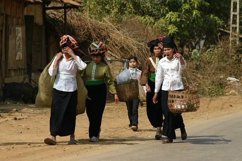 Women. Son La Province. Vietnam. 2007.