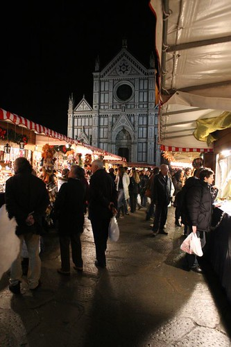 The Market, with Santa Croce in the background