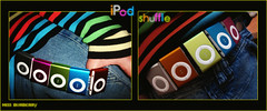 IpodShuffle ..l.. (Rzii,) Tags: pink blue orange green me apple ipod moi want jeans how shuffle lolz lool