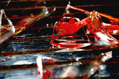 blood.for.blood (deresjot) Tags: broken glass blood blut schmerz scherben