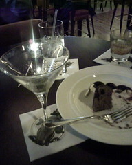 Dessert and cocktails at Mason Street Grill