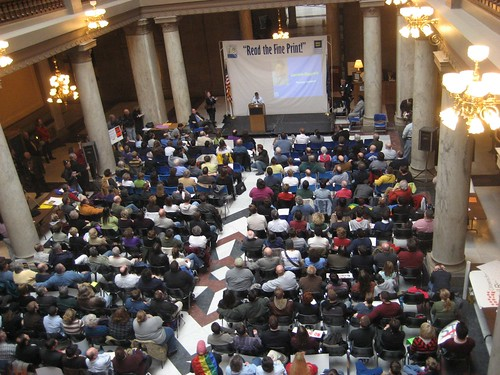 Rally Attendees