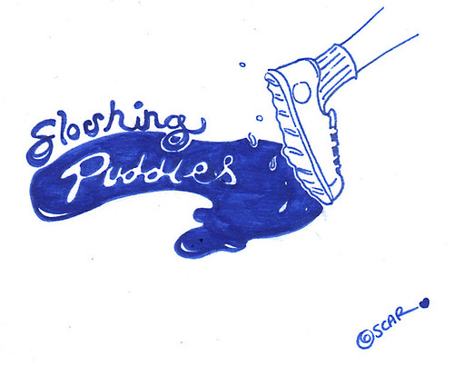 Sloshing Puddles