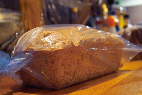 french country bread in a bag