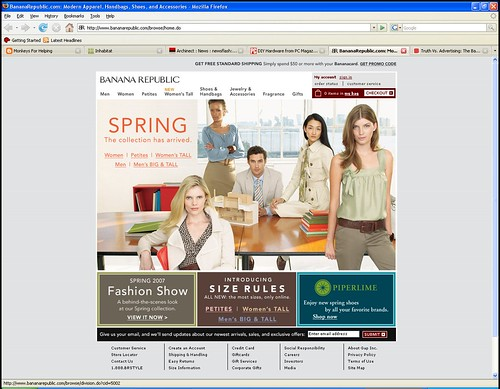 banana republic loves architects?