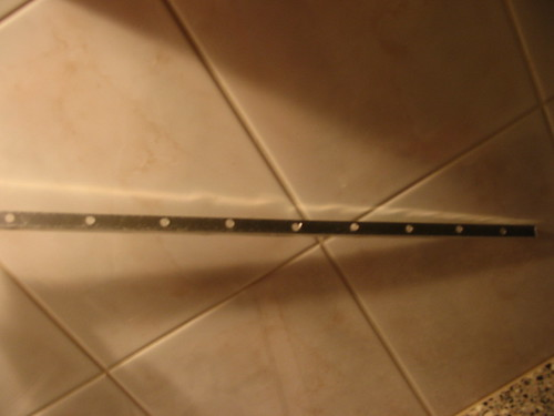 aluminum rail with holes