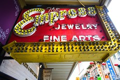 Empress (Thomas Hawk) Tags: sanfrancisco california city usa sign shop store neon chinatown unitedstates unitedstatesofamerica fine arts jewelry front empress photowalking7