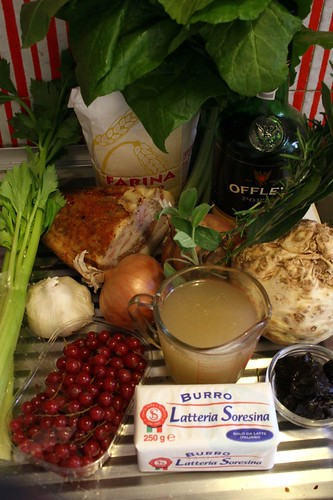 Mise en Place for Hare Pie