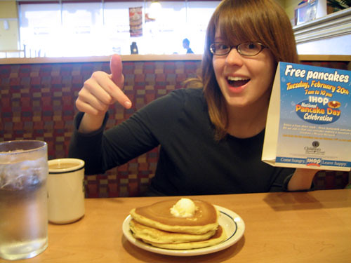 pancakes clip art. Or just have free pancakes!