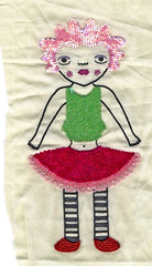 Cindy Gets a Makover (poppalina) Tags: india cindy work design embroidery bombay bead applique embellish mym sequin embroider poppalina