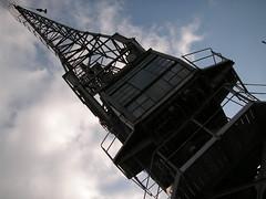 Museum Cranes 4 (gothick_matt) Tags: bristol crane harbourside industrialmuseum
