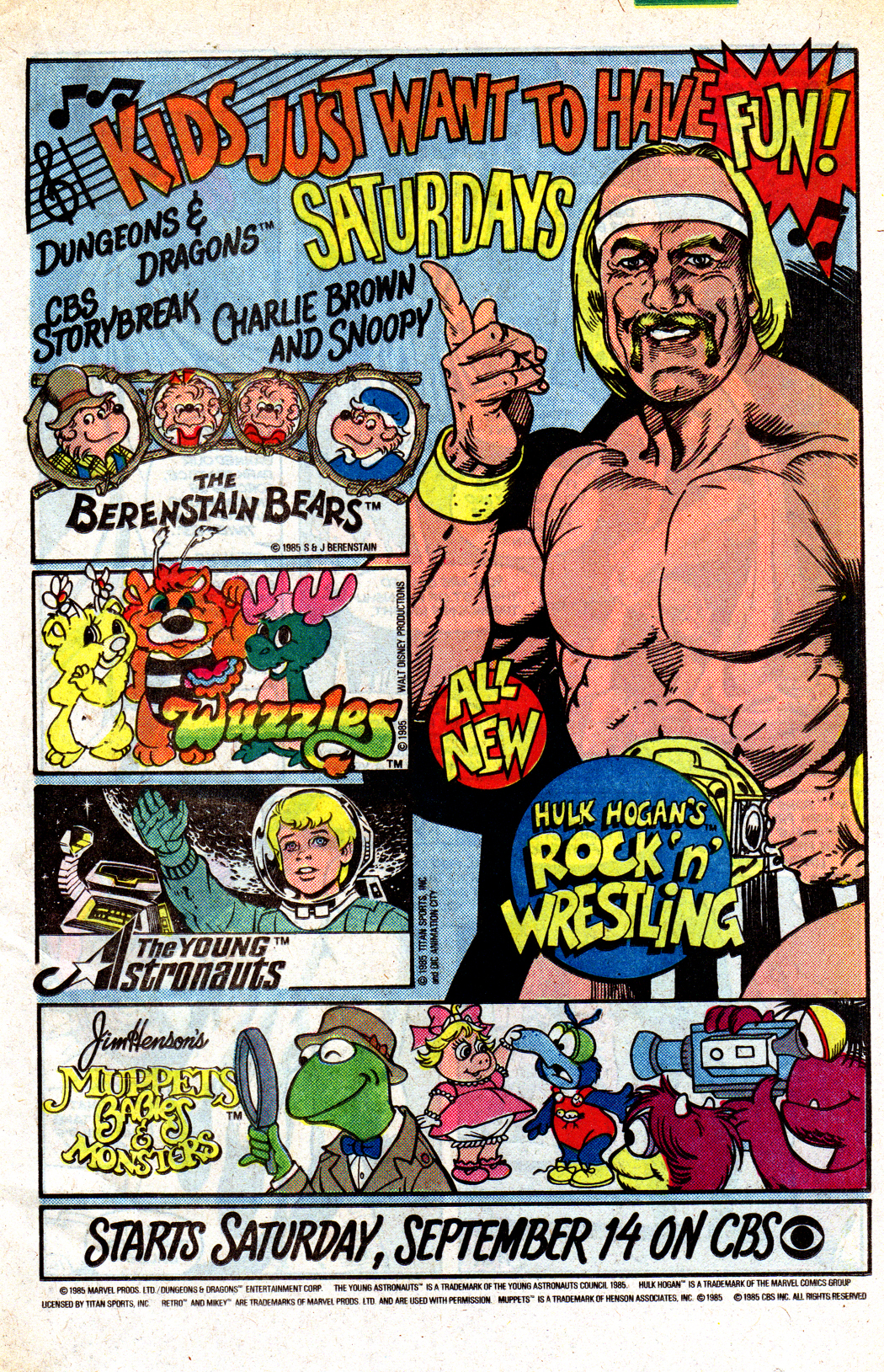 The Essential Saay Morning Cartoon Ads, 1979-1989 | Branded in ...