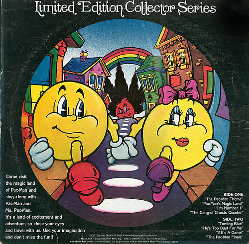 The Pac-Man Album 'limited edition'- Pic Disc 1980 - 1982(?!) :: Sleeve ii