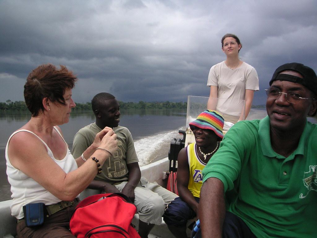 Bootstour zum Lac Ngomo