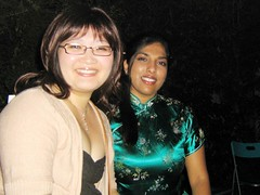 Sheena and me (Princess_Fi) Tags: chinesenewyear housewarming