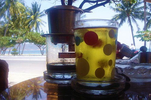 beach tea and coffee