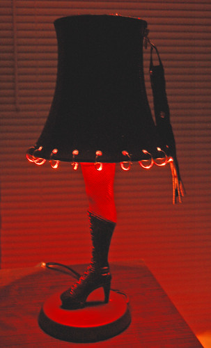 Dominatrix leg lamp