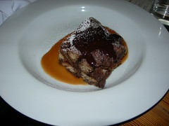 cocoa bread pudding, farm 255