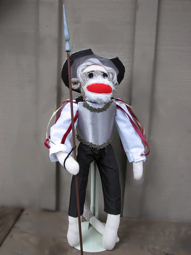 Don Quixote Sock Monkey