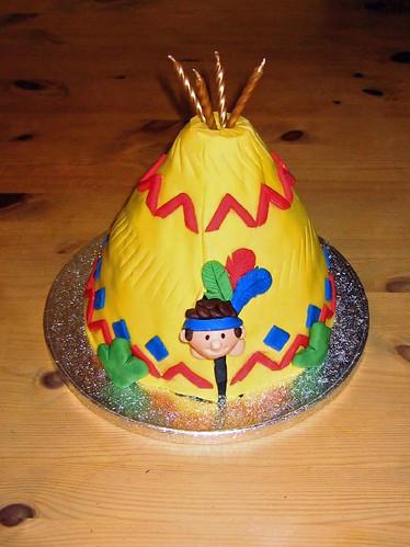 Teepee Cake Beautiful Birthday Cakes