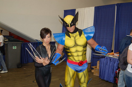 Wonder Con 2007: wolverine and lady deathStrike