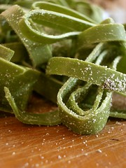 Fresh spinach pasta - by Vincent Ma