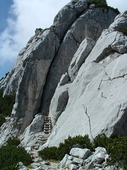 Ladder Eagles Nest (Kaplo Steve) Tags: germany bavaria berchtesgaden kehlsteinhaus