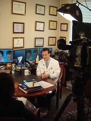 NBC Today's Janice Lieberman interviewing Dr. Bauman (click for more photos of the interview