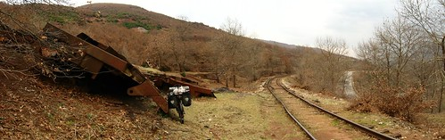 Sleep spot near railway, near Librazhd, Albania