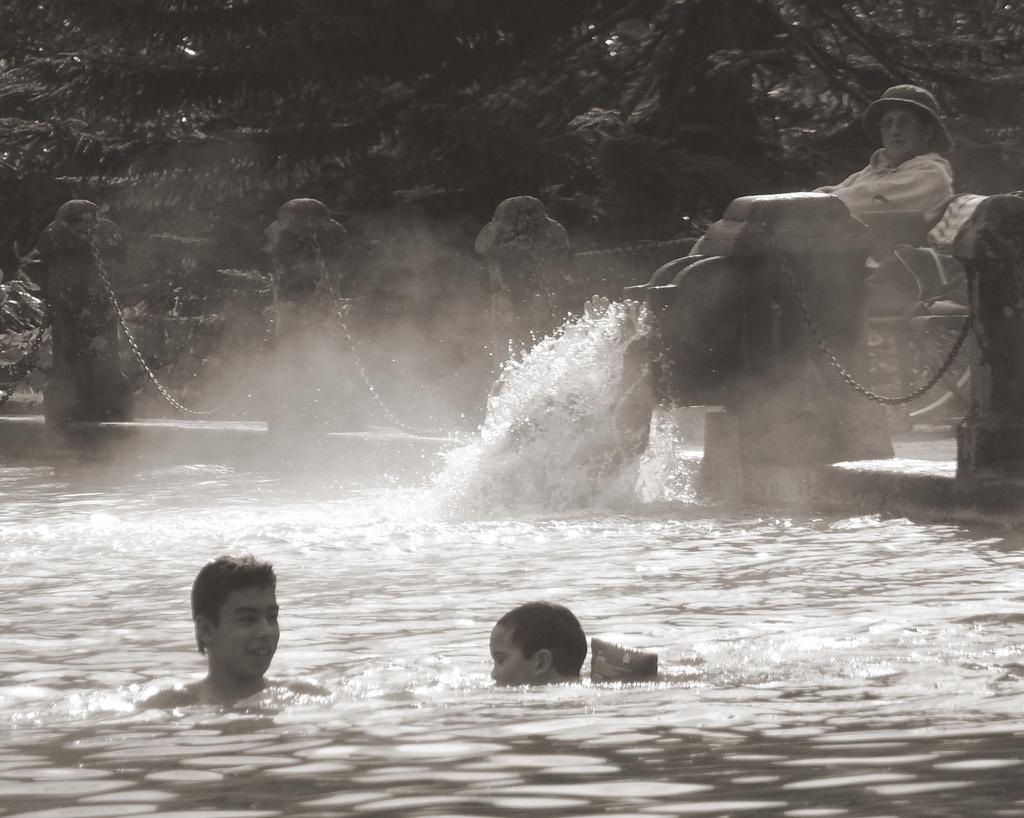 Iron hot waters (II)