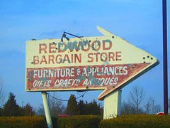 redwood bargain store