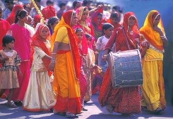 Indiako emakumeak
