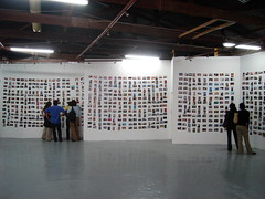 Just before the opening of the Photomarathon exhibition at The Bag Factory