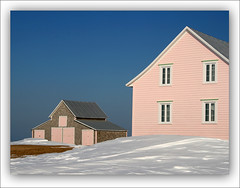 Pink House (Renald Bourque) Tags: travel pink house canada bravo gaspesie qubec iloveit magicdonkey lefion abigfave bratanesque bestofpink