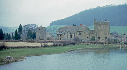 Stokesay castle 11 Mar 1983