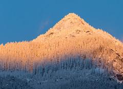 Ogilvie Peak Gradient (Mason Aldridge) Tags: mountain mountains canada britishcolumbia fraservalley hope bc alpenglow sunset goldenhour gold sunrise gradient colors beautiful gorgeous pretty landscape 80200l 80200 drainpipe magicdrainpipe 70200 6d canon eos
