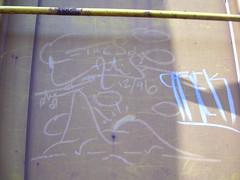 The solo artist (Tea Leaf Bench) Tags: this is cool tags scrawl streaks gh monikers blahblahblahblah