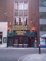 The Printers Devil, 98-99 Fetter Lane, EC4A 1EP (Doogal Bell) Tags: london pub random finder