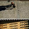 Corso Garibaldi (kenyai) Tags: street people milan donna shadows milano ombre garibaldi balcone corsogaribaldi interestingness15 i500 capellirossi top20street top20in