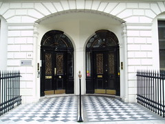 Doorways, Portland Place (stevecadman) Tags: door uk england london architecture unitedkingdom britain terrace architect doorway housing georgian 18thcentury c18 eighteenthcentury jamesadam
