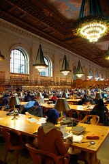 Main Reading Room, New York Public Library (Francis Sheehan) Tags: christmas new york city public reading library room main books