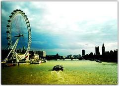 Surreal London (Extra Medium) Tags: blue green london photoshop scenery nikonstunninggallery tripinmay
