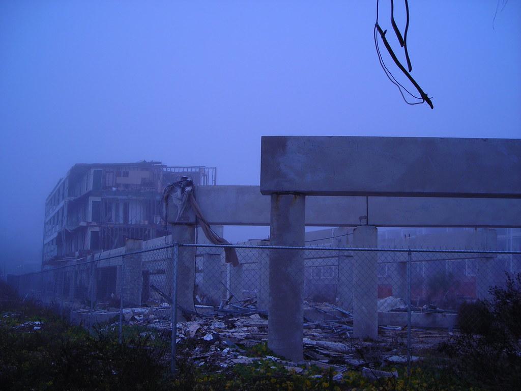 Damaged Hotel